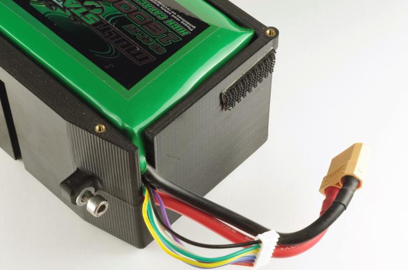 Pouzdro akumulátoru vytištěné na 3D tiskárně – Mirex3D Kladno